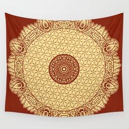 Mandala 8 Wall Tapestry