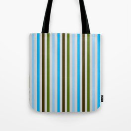 UBER COOL guy stripes Tote Bag