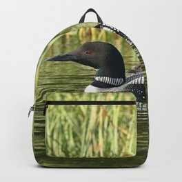 Mother and baby loon Backpack