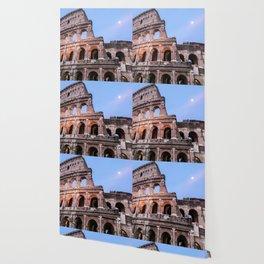 Colosseum at Night Wallpaper