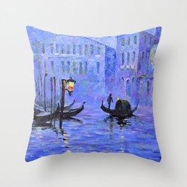 Lilac Night Throw Pillow