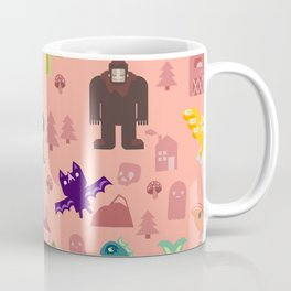 Cryptids of the PNW Coffee Mug
