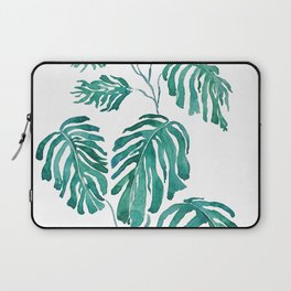 Monstera painting 2017 Laptop Sleeve