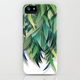 """Spring Forest of Surreal Leaf"" iPhone Case"