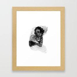 Nothing happens. Framed Art Print