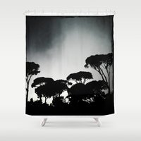 rome Shower Curtains featuring rome by chicco montanari