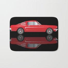 Very Fast Red Car Bath Mat