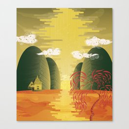 Chinese Landscape Canvas Print