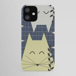 A few happy cats iPhone Case