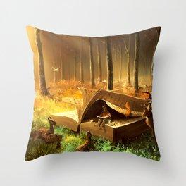 A safe place where you can go Throw Pillow