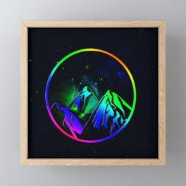Night Court Symbol Framed Mini Art Print
