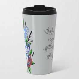 Pretty Teacups Travel Mug