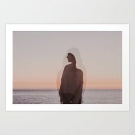 The color of your aura Art Print