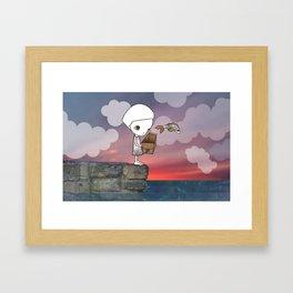 Gone Fishing (2) Framed Art Print