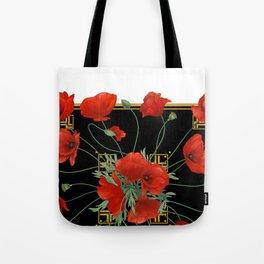 Poppy Stravaganza Tote Bag
