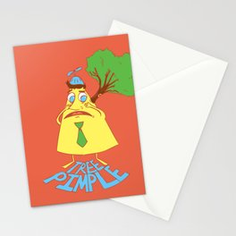 Tree Pimple Stationery Cards