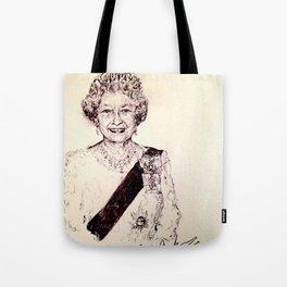 Queen Elizabeth Tote Bag