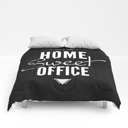 Home Sweet Office Comforters