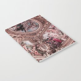Rose Gold Luxury Notebook