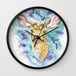 Summer Doe Wall Clock