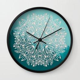 Mandala Forest Dawn Wall Clock