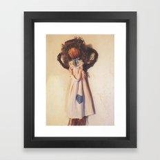 Handmade Angel Framed Art Print