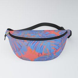 Tropical abstract 16 Fanny Pack