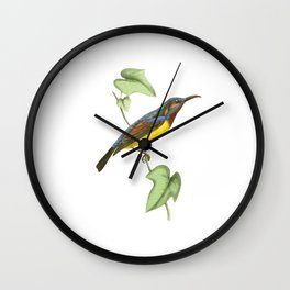 Javanese Creeper Wall Clock