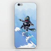squirtle iPhone & iPod Skins featuring WATERBENDING SQUIRTLE by DROIDMONKEY