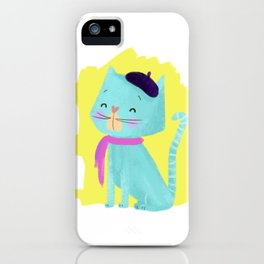 Pierre Cat iPhone Case