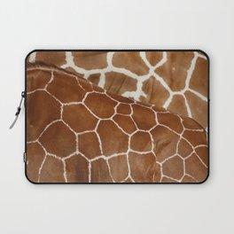 Giraffe Design Illustration Background Laptop Sleeve