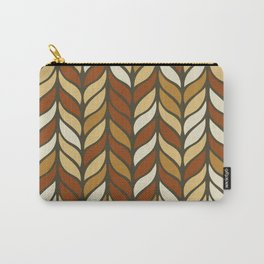 Boho Chic Retro Weave Carry-All Pouch