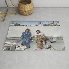 John and Paul get away from it all Rug
