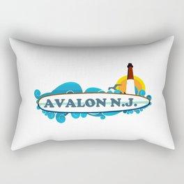 Avalon - New Jersey. Rectangular Pillow