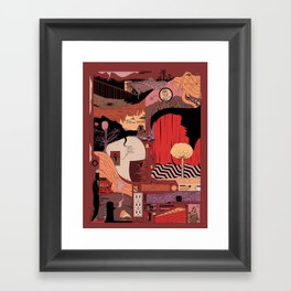 Who is the Dreamer Framed Art Print