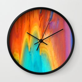 Prismatic Spring Wall Clock