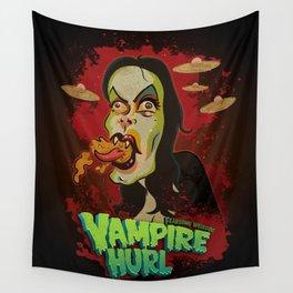 Vampire Hurl Wall Tapestry