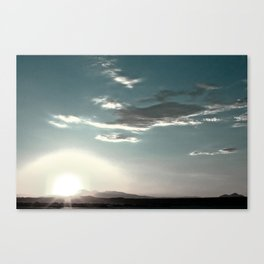 Brushed Nowhere Canvas Print
