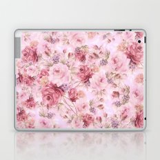 romantic pink roses Laptop & iPad Skin