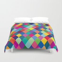 Geometric Pattern #8 Duvet Cover