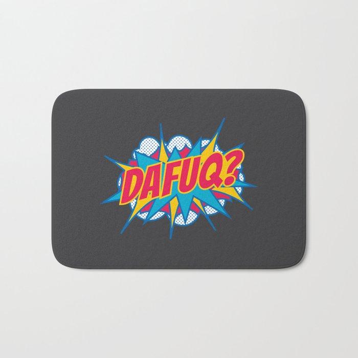 Dafuq? Bath Mat