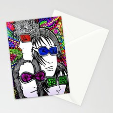 Face your brain Stationery Cards