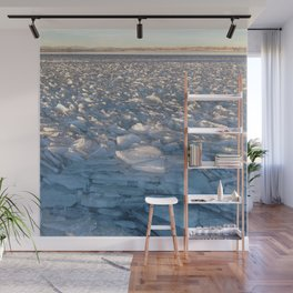 Watercolor Ice 16, Iceflow Lake Wall Mural