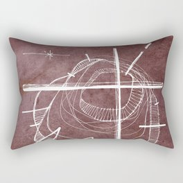 Religious Cross symbol Rectangular Pillow
