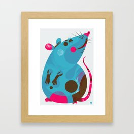 Ratso Framed Art Print