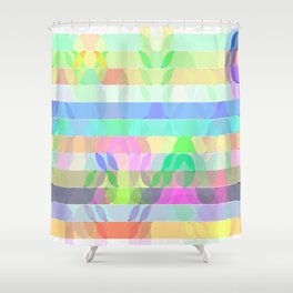 Re-Created Laurels I by Robert S. Lee Shower Curtain