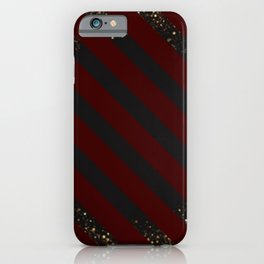 Glitter abyss pattern iPhone Case