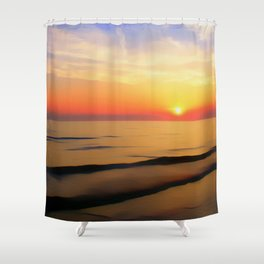 Perfect Night Shower Curtain