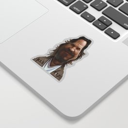 Jeff Bridges Sticker