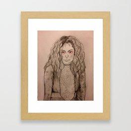 Sestra Framed Art Print